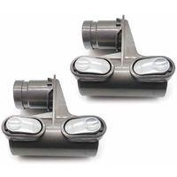 Pieces De Tete De Support, Pour Aspirateur Dyson Dc58 Dc59 Dc62 V6, 2Pcs