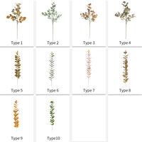 Plantes De Feuillage Artificiel, Pour Decor De Paysage De Pelouse De Festival, Rose, 10Pcs