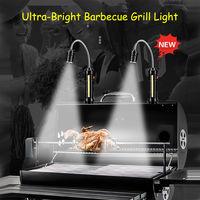 Lampe De Barbecue Ultra-Lumineuse, Avec Eclairage Lateral Cob