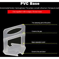 Tile Systeme De Mise A Niveau Outil 1 Paire Dent Extracteur Ventouse Double Poignee De Verrouillage Pour Le Verre / Tuiles De Levage