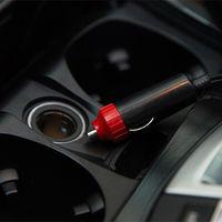 L'Inflation Mini Voiture Electrique Pompe Portable Pneu Air Gonfleur 300Psi Automatique Pompe Compresseur Pour Voiture Moto Basketball Velo