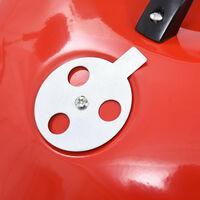 Barbecue portable XXL au charbon avec roues 44 cm