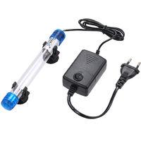 Ac110-220V 5W Sterilisateur Uv Germicide Lampe Filtre Lumiere Ultraviolette Tube Ip68 Resistance A L'Eau Pour Aquarium De Poissons Pot