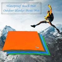 Bluefiled Impermeable Plage Tapis D'Exterieur Blanket Portable Mat Pique-Nique Multifonctionnel Camping Bebe Grimpez Tapis De Sol Matelas, Vert, S
