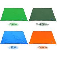 Bluefiled Impermeable Plage Tapis D'Exterieur Blanket Portable Mat Pique-Nique Multifonctionnel Camping Bebe Grimpez Tapis De Sol Matelas, Orange, Xs