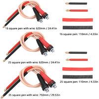 Bricolage Spotwelder Accessoire Cuivre Pur Handheld Pen Sans Soudure Tache Aiguille Pour 18650, 35 Stylo Carre