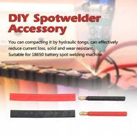 Bricolage Spotwelder Accessoire Cuivre Pur Handheld Pen Sans Soudure Tache Aiguille Pour 18650, 25 Carre Simple