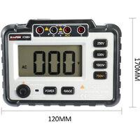 Winspeak Vc60B + Digital Lcd Testeur De Resistance D'Isolement Megametre Dc250V / 500V / 1000V Ac750V Avec Une Large Plage De Mesure