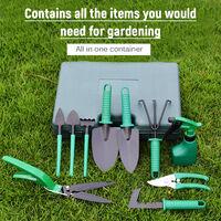 Jardin Outils à main Heavy Duty Jardin Tool Set avec Poignée Jardinage Fournitures