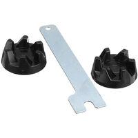 2Pcs Blender En Caoutchouc Coupler D'Embrayage A Engrenages Avec Removal Tool Pour Kitchen Aid 9704230