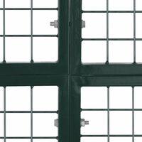 Portail de Cloture en Grillage Galvanisee 289 x 200 cm / 306 x 250 cm