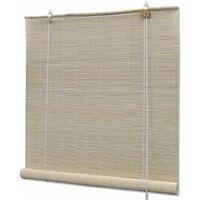 Store Enrouleur Bambou Naturel 120 X 160 Cm