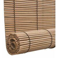 Store Enrouleur Bambou Brun 100 X 160 Cm