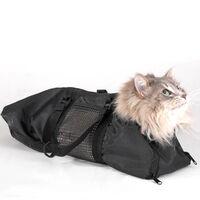 Sac Animal De Beaute Portable Toilettage De Chat Sac De Bain De Chat Respirant Mallette De Transport