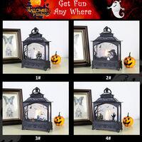 Lumiere De Cheminee D'Halloween Led Lumiere De Bougie Rougeoyante Bar Maison Hantee Lumiere De Decoration D'Halloween, Type Squelette (Batterie Non Fournie)