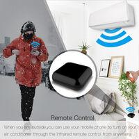 Wifi Rf Ir Telecommande Universelle Commande Vocale Intelligente Vie A La Maison Tout-En-Un A Distance Compatible Avec Tuya Alexa Accueil Google
