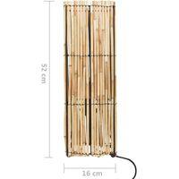 Lampadaire sur pied Roseau 60 W 52 cm E27