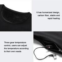 Vetements Chauffants Intelligents, Vetements Chauffants A Chargement Usb, Noir, Pantalons Pour Femmes, Taille Xl