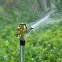 Jardin Arrosage Trepied Pelouse Usine D'Irrigation Par Aspersion En Alliage De Zinc Au Sol Culbuteurs Ensemble Des Buses