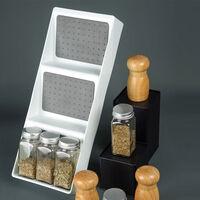 Spice Rack 3 Niveau De Cuisine Spice Rack Tiroir Boite Spice Rack Organisateur Pour Les Couverts En Plastique Armoire De Rangement Tiroir Plateau