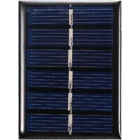 Mini 3V Panneau Solaire Silicium Polycristallin Petit Solaire Pour Jouets Lampe Ventilateur Pompe De Jardin, 0.3W