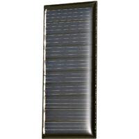 Mini Panneau Solaire Silicium Polycristallin Petit Solaire Pour Jouets Lampe Ventilateur Pompe De Jardin, 0.25W 5V