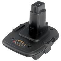 Dm18D Adaptateur Batterie Convertisseur Avec Usb Outils Port Pour Dewalt Convertir 20V Li-Ion Milwaukee M18 A 18V Nicd Nimh Batterie Dc9096