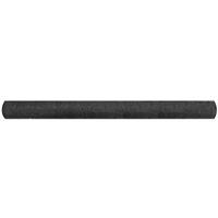 Filet brise-vue PEHD 1,5x25 m Noir 150 g/m2