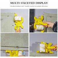 Multifonctionnel Beate Anti-Maculage Peinture Edger Brosse A Rouleau Safe Outil Pour Plafond Mur