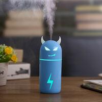 Diable Humidificateur Usb Mignon Humidifier Handy Aroma Diffuseur Humidificateur Pour Halloween, Bleu