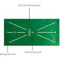 Tapis De Pratique De Golf, Tapis De Detection De Swing, Aides A L'Entrainement Au Mini-Golf