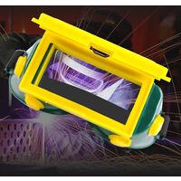 energie solaire variable automatique Lumiere argon soudage a l'arc electrique de soudage Lunettes de soudage antireflets Protections Lunettes de soudure design Clamshell Utilitaire Outils de soudage