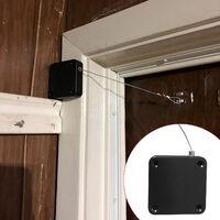 Ferme-Porte Automatique De Capteur Porte Plus Proche De Cordon De Serrage Residentiel Pour Toutes Les Portes, Blanc