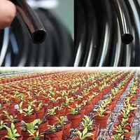 1/4 Pouce Tuyau D'Irrigation Goutte A Goutte Tuyau De Jardin Blanc Tuyau D'Arrosage Ligne De Tube D'Arrosage De Jardin, 98Ft