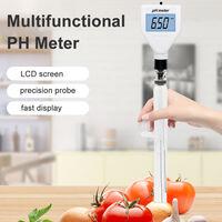 Ph-98211 Ph Metre Numerique Acidite Testeur Ph-Metre Du Sol Detecteur Ph Testeur De Jardin Fleurs Capteurs Sol Ph
