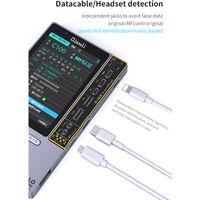 6-In-1 Restauration De Detection De Peripherique Tester De Reparation Pour Ios Telephone 11 Pro Max Xr Xsmax Xs 8P 8 7P 7 Vrai Tone Batterie Casque Baseband Reparation