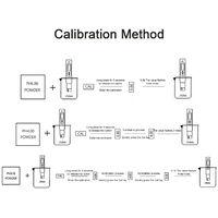 Ph Acidometre Detecteur Qualite De L'Eau Ph Prod Valeur De Test Ec & Tds Conductivity Qualite De L'Eau Pen Test, Blanc