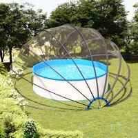 Dome de piscine 550x275 cm