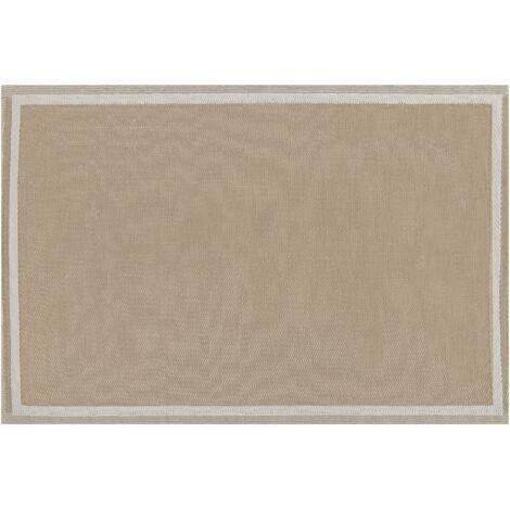 Tapis extérieur beige 120 x 180 cm ETAWAH