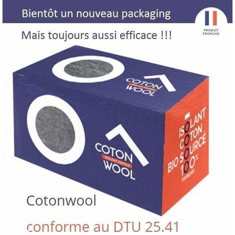 Coton en vrac à souffler ou déverser BUITEX COTONWOOL 12,5kg ACERMI - sac(s) de 12.5kg