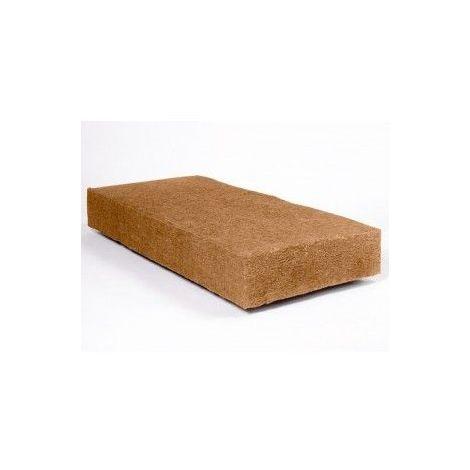 Panneau fibre de bois flexible STEICO FLEX | Ep. 100mm 57cmx122cm Densité=50kg/m³ R : 2,63 - paquet(s) de 2.81m²