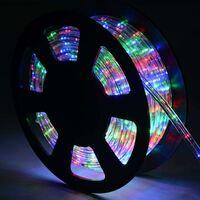 30M Luz Manguera 1080 LED Luces de Navidad Fiesta Jardín Hogar Decoración para Exterior Interior Multicolor