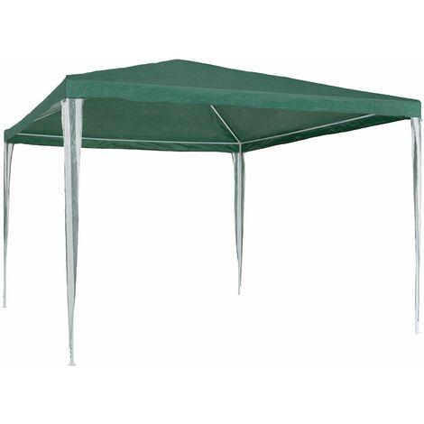 Gazebo 3x3m - garden gazebo, camping gazebo, party gazebo - green