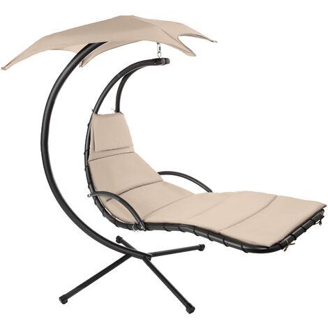 Hanging chair Kasia - garden swing seat, garden swing chair, swing chair - beige