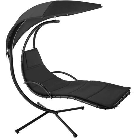 Garden swing chair Maja - swing chair, hanging chair, hanging garden chair - black