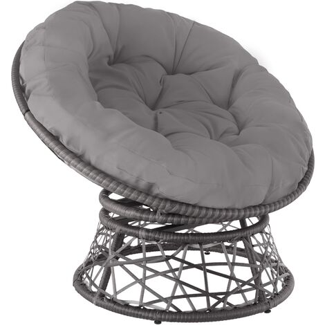 Gargano Rattan Chair - grey