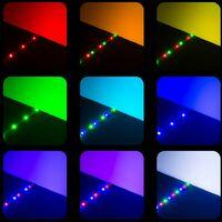 LED strip lights x2 flexible 5m 300 LEDs - led strip, led under cabinet lighting, led kitchen lighting - white