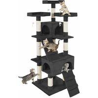 Cat tree Barney - cat scratching post, cat tower, scratching post - black