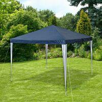 Gazebo 3x3m - garden gazebo, camping gazebo, party gazebo - blue