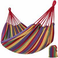 Hammock incl. bag - garden hammock, camping hammock, indoor hammock - colorful